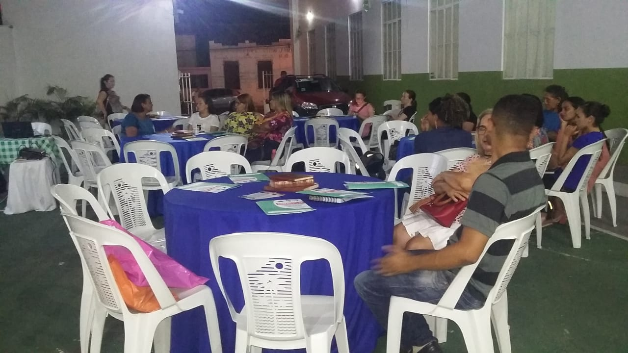 DIRETORES DO SINDICATO REALIZAM PALESTA NA CIDADE DE CAXIAS MA
