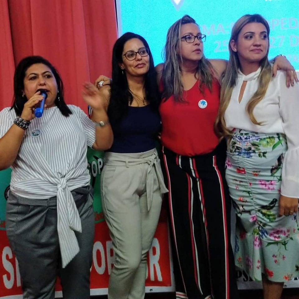 DIRETORIA NACIONAL SE EMOCIONA NO CONGRESSO 2019